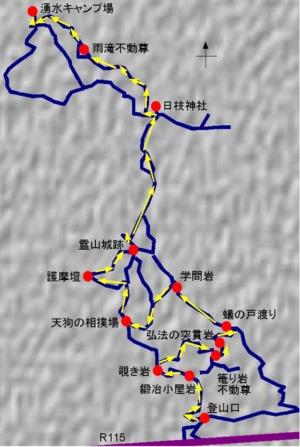 霊山入峰修行ルート